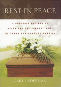 My second book, a sequel to the first, continues the story after Lincoln's death and funeral journey in 1865, and charts the birth and rise of the funeral industry in the years following and through the 20th century. Best part of researching this one: talking with some funeral directors.